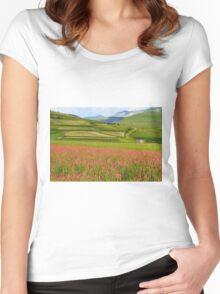 Fields  Women's Fitted Scoop T-Shirt