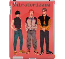 Shiratorizawa 90s iPad Case/Skin