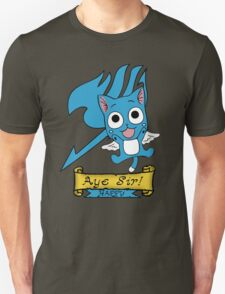 "Fairy Tail: Happy ""Aye Sir"" Unisex T-Shirt"