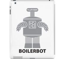 BOILERBOT (grey) iPad Case/Skin