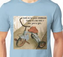 Remembering childhood Unisex T-Shirt