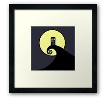 Tardis Nightmare Framed Print