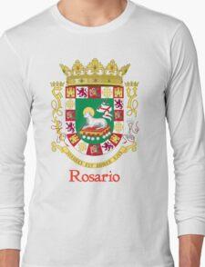 Rosario Shield of Puerto Rico Long Sleeve T-Shirt