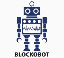 BLOCKOBOT (blue) by jodalry