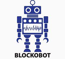 BLOCKOBOT (blue) Unisex T-Shirt