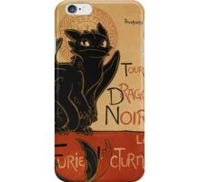 Le Dragon Noir iPhone Case/Skin