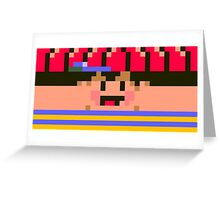 Ness Face Greeting Card
