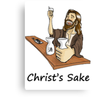 Christ's Sake Canvas Print