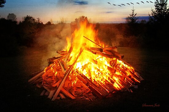 Whisper of Flames ~ Samhain Bonfire by SummerJade