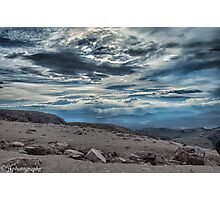 Storm on Pike's Peak  Photographic Print