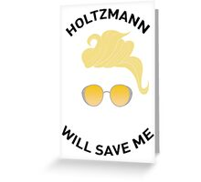 Ghostbusters: Knight in Shining Goggles (Black Text) Greeting Card