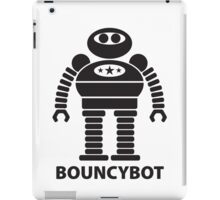 BOUNCYBOT (black) iPad Case/Skin