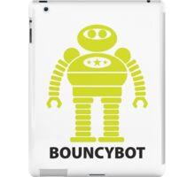 BOUNCYBOT (green) iPad Case/Skin