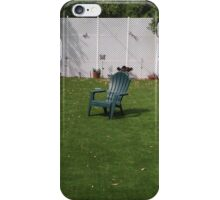 Lawn Chairs iPhone Case/Skin
