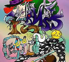 Hatter's World: Madness is Genius  by DiaAmor718