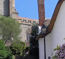 CHURCH STEPS MINEHEAD SOMERSET ENGLAND Sticker