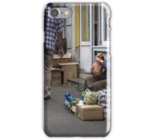 Country versus city iPhone Case/Skin