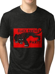 THE BLACK PANTHER PARTY Tri-blend T-Shirt