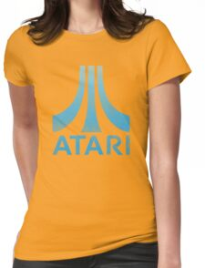 Atari Classic  Blue Vintage  Womens Fitted T-Shirt