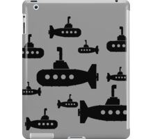 Miniature Ebony Submersibles iPad Case/Skin
