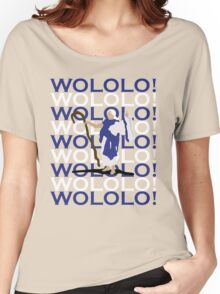 MONK! Women's Relaxed Fit T-Shirt