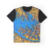 """Subatomic Particle Collision Tracks""© Graphic T-Shirt"