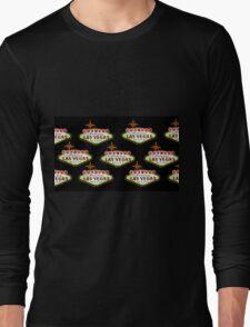 Las Vegas Welcome sign Long Sleeve T-Shirt