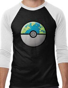 Earth ball Men's Baseball ¾ T-Shirt
