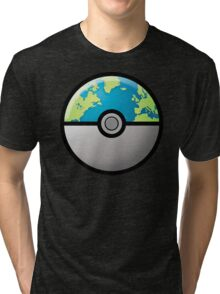 Earth ball Tri-blend T-Shirt