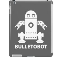 BULLETOBOT (white) iPad Case/Skin