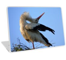 The Stork . Laptop Skin