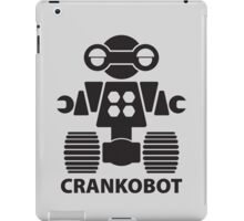CRANKOBOT (black) iPad Case/Skin