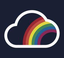 Rainbow cloud Kids Tee