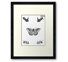 Harry Styles Tattoos Framed Print
