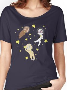 Space Buns Women's Relaxed Fit T-Shirt