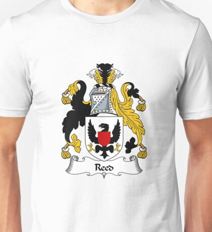 Reed Coat of Arms / Reed Family Crest Unisex T-Shirt