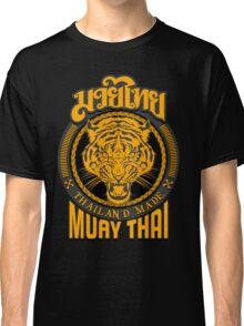 tiger sagat muay thai  thailand martial art logo Classic T-Shirt