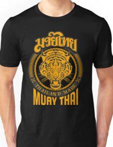 tiger sagat muay thai  thailand martial art logo Unisex T-Shirt