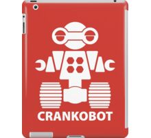 CRANKOBOT (white) iPad Case/Skin