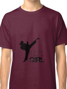 Kick Like a Girl Classic T-Shirt