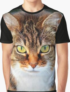 Cat Eyes, Animal Collection  Graphic T-Shirt