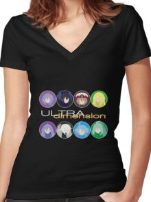 Dimension Jump - Ultra Women's Fitted V-Neck T-Shirt
