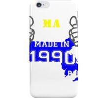 This Massachusetts Girl Made in 1990 iPhone Case/Skin