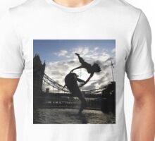 GIRL WITH DOLPHIN Unisex T-Shirt