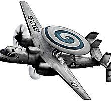 E-2 Hawkeye by deathdagger