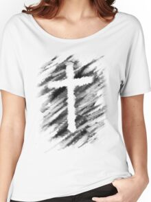 Watercolour Cross Women's Relaxed Fit T-Shirt