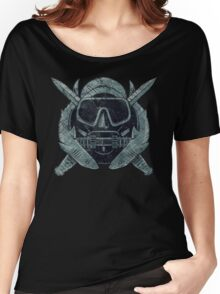 US Combat Diver Vintage Insignia Women's Relaxed Fit T-Shirt