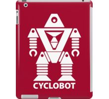 CYCLOBOT (white) iPad Case/Skin
