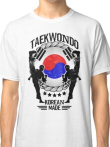taekwondo korean made martial art sport kick shirt Classic T-Shirt