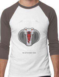 monkon muay thai cobra thailand martial art sport logo dark shirt Men's Baseball ¾ T-Shirt